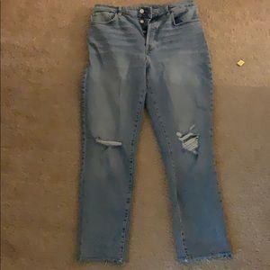 Zara High waisted mom jeans